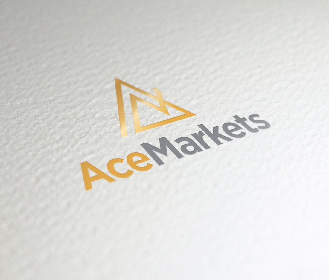 Логотип для интернет-магазина «AceMarkets»