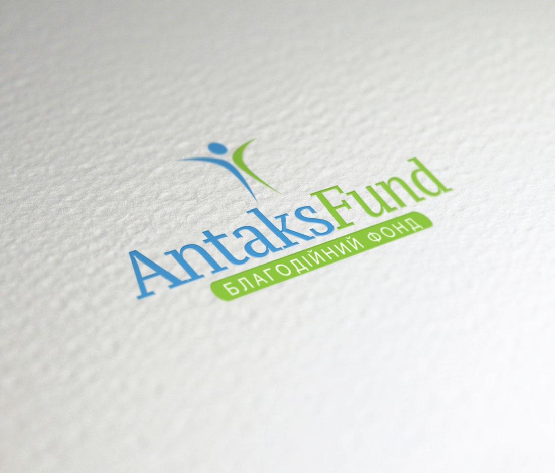 Логотип для благотворительного фонда «Антакс»