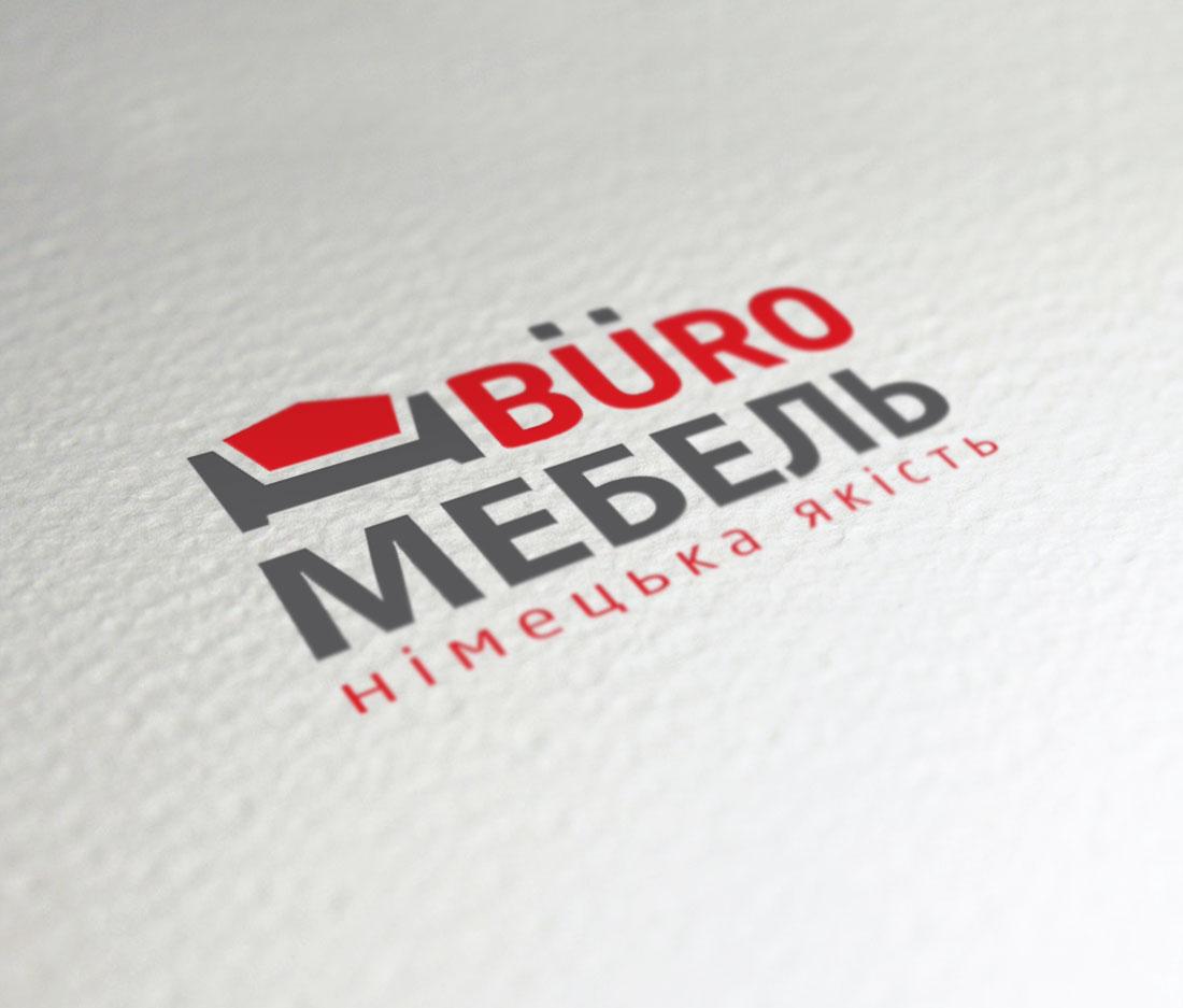 Дизайн логотипа для магазина «Buro Мебель»