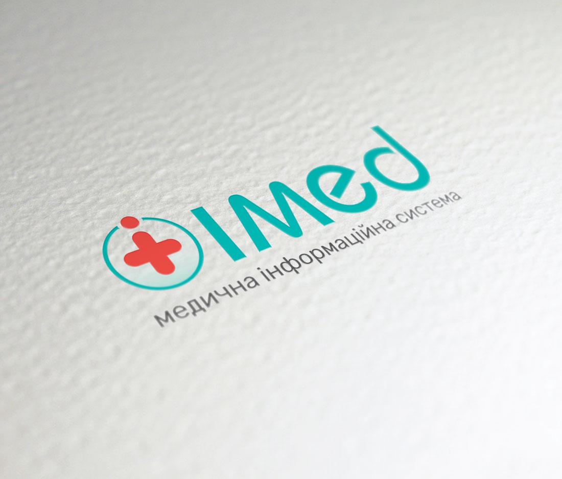 Логотип для информационной системы «IMED»