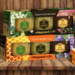 Дизайн упаковки для медового набора