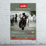 Создание и дизайн рекламного плаката для «Aprilia»