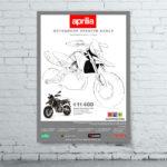 Создание и дизайн рекламного плаката для «Aprilia»2