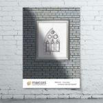 Дизайн рекламного плаката для «Marconi»3