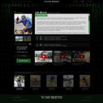 корпоративный сайт для спортсменов2