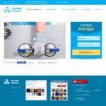 Сайт-каталог по аренде вакуумных присосок1