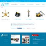 Сайт-каталог по аренде вакуумных присосок2